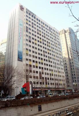 Edificio de oficinas en Seúl
