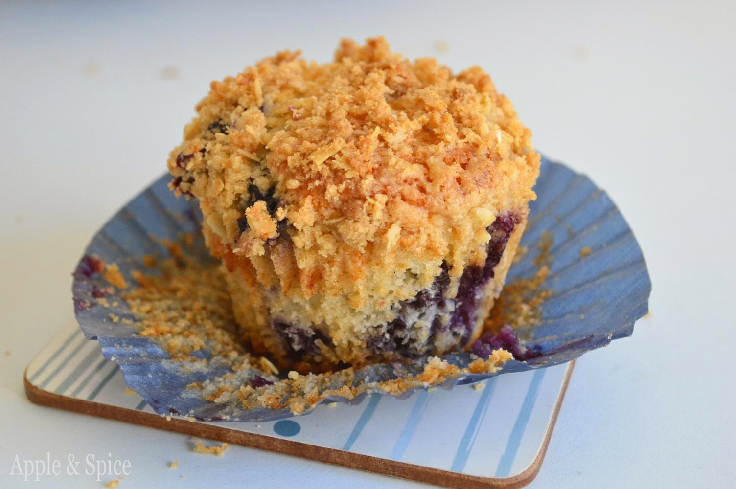 Big Blueberry Muffins Recipe — Dishmaps