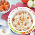 Bubur Nasi Dengan Ayam & Lobak Merah ( 9 - 12 Bulan )