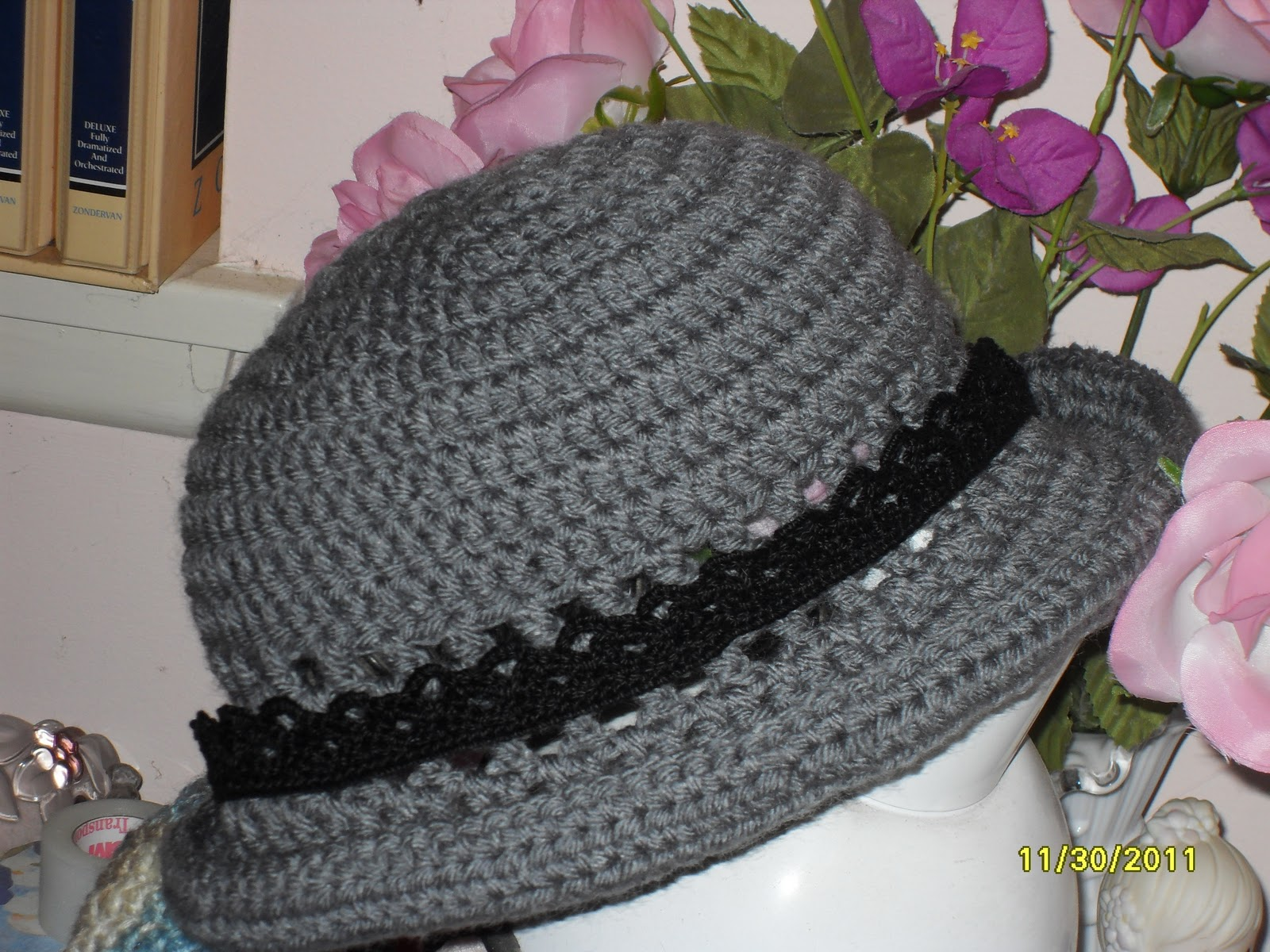 Simple Crochet Patterns : Easy Hats to Crochet is my first eBook with 10 crochet hat patterns ...