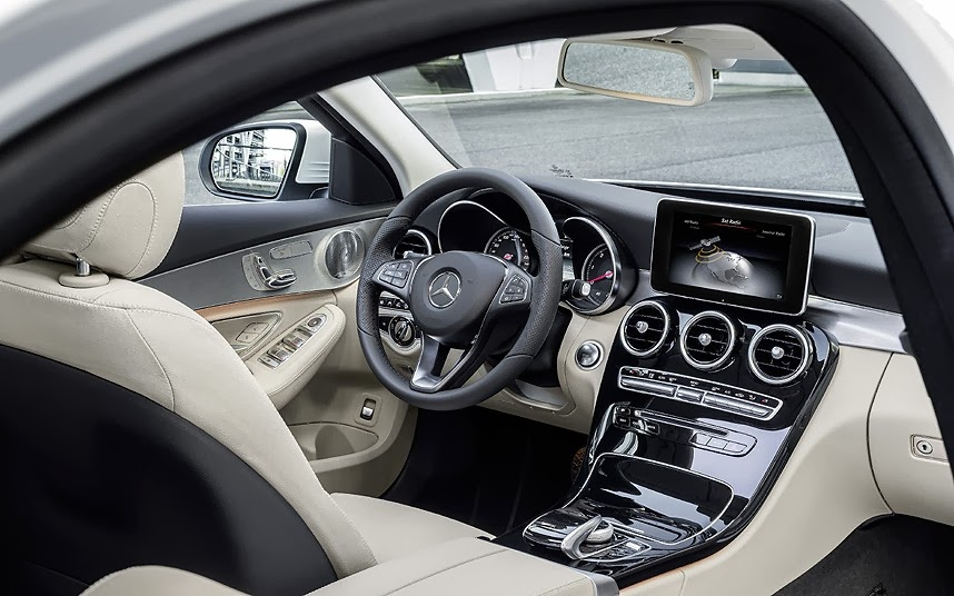 Interior del nuevo Mercedes Clase C 2014