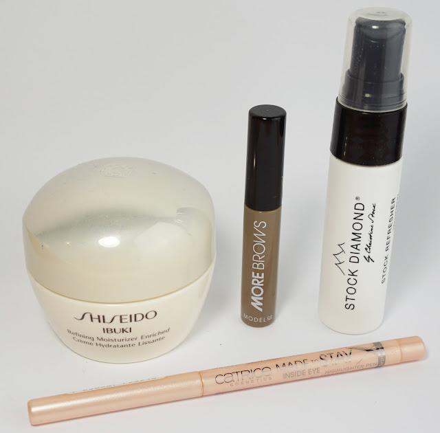 Aufgebrauchte Kosmetik Juli / August 2015 Shiseido, Catrice, ModelCo