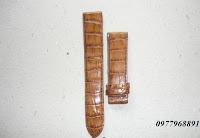dây đồng hồ da cá sấu 07