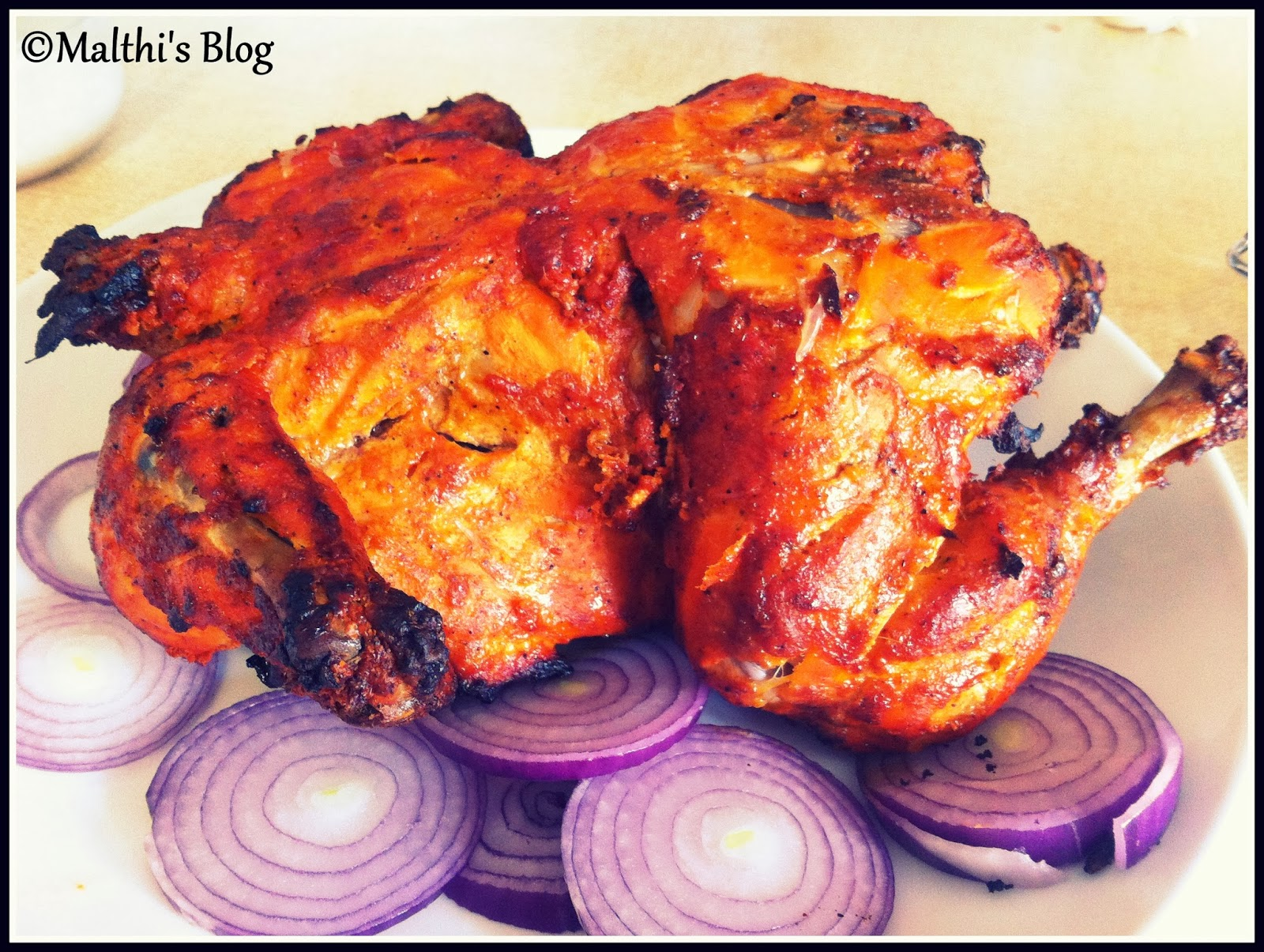 Malthi's Simple n Easy cooking: Oven baked Tandoori ...
