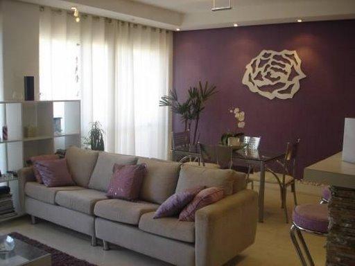 Sala De Estar Cor De Rosa ~   Tudo sobre o mundo das tintas! Tendências de cores para seu lar