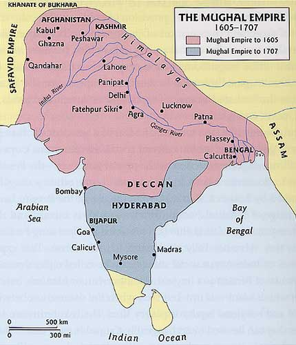 the history of the mughal empire of india But a generation later, mongol leaders invaded india again and forced the  indians into a new empire, the mughal empire mughal is actually.