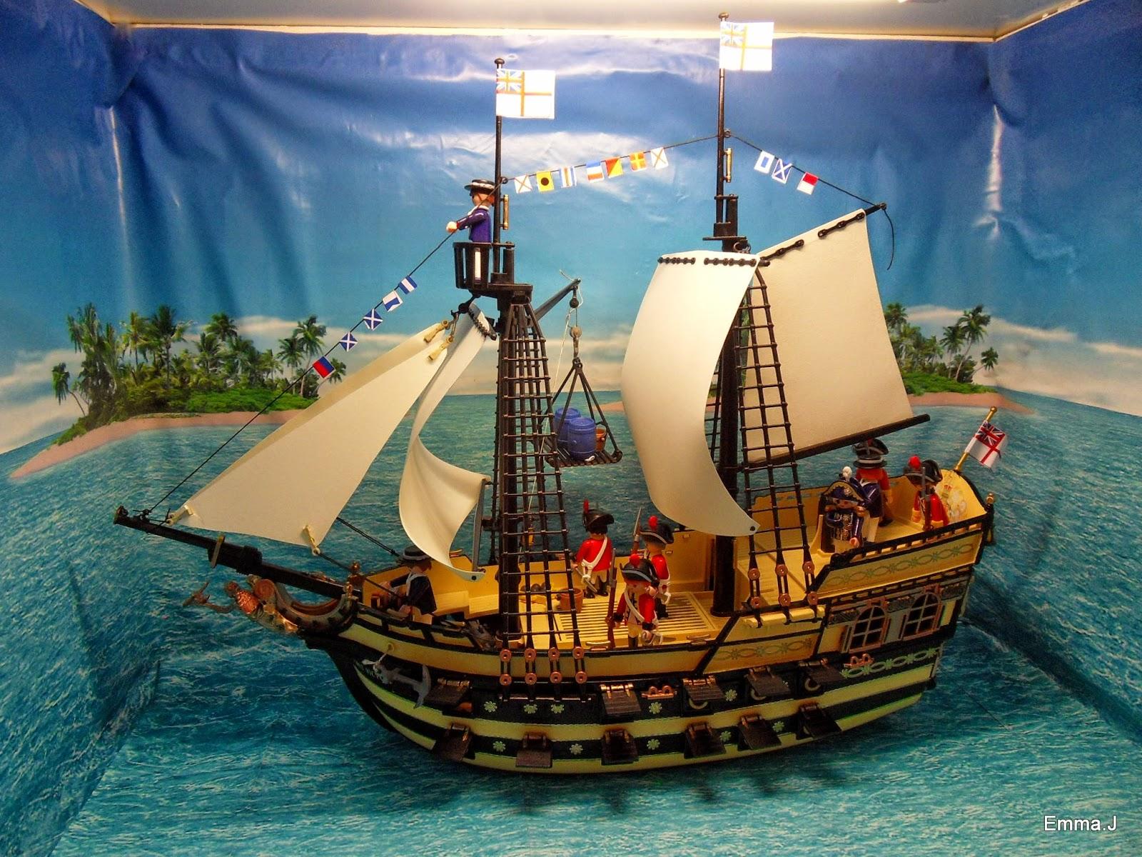 playmobil pirate ship 4290 instructions