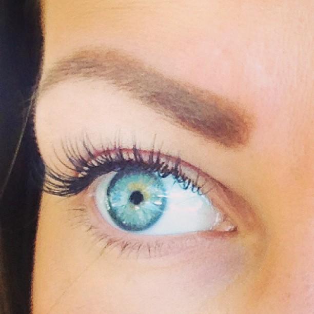 Alisha Lucik amazing lashes