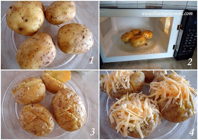 Jacket potato (ziemniaki w mundurkach)