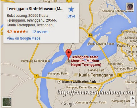 Trengganu State Museum Google Map