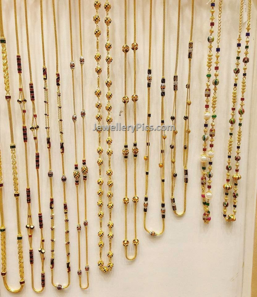 Everyday wear gold chain designs - Latest Jewellery Designs