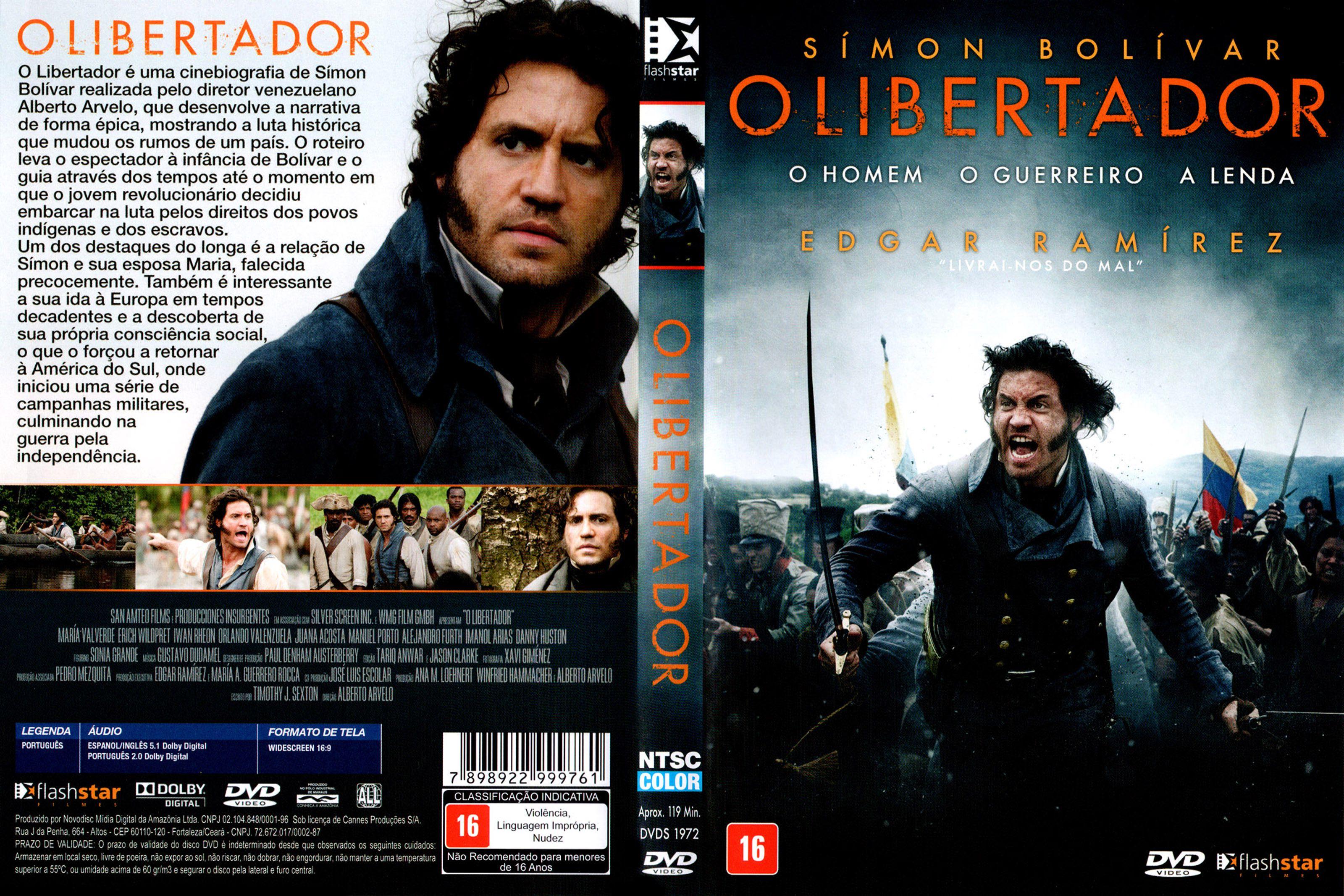Capa DVD O Libertador