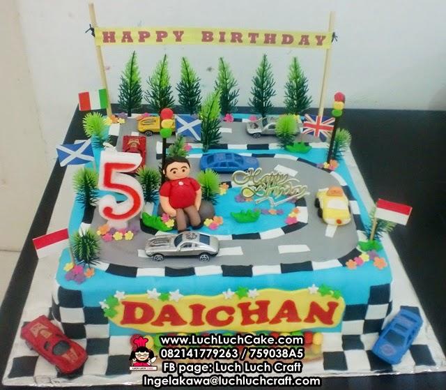 kue tart ulang tahun untuk anak cowok