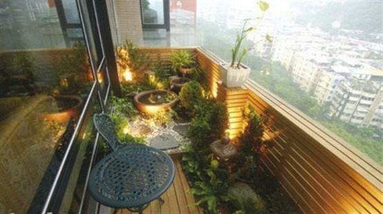 Dep sito santa mariah ideias para varanda pequena de for Balcony zen garden ideas