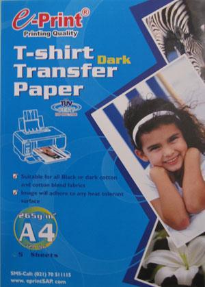 Kertas transfer paper untuk sablon