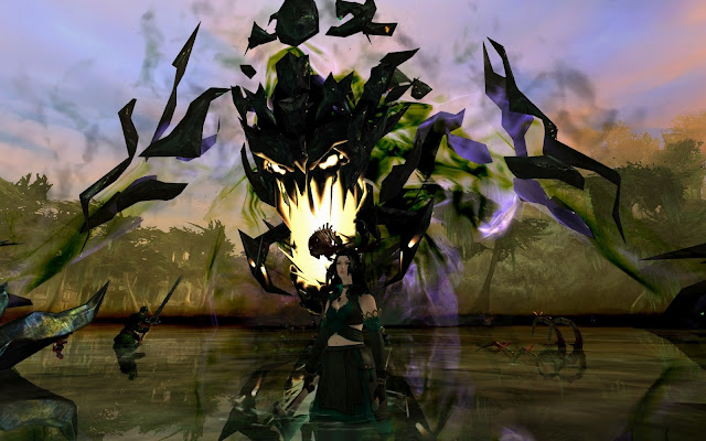 shadow behemoth Godslost swamp GW2 Guild Wars 2