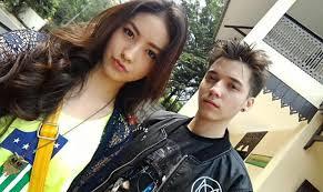Stefan William dengan Natasha Wilona