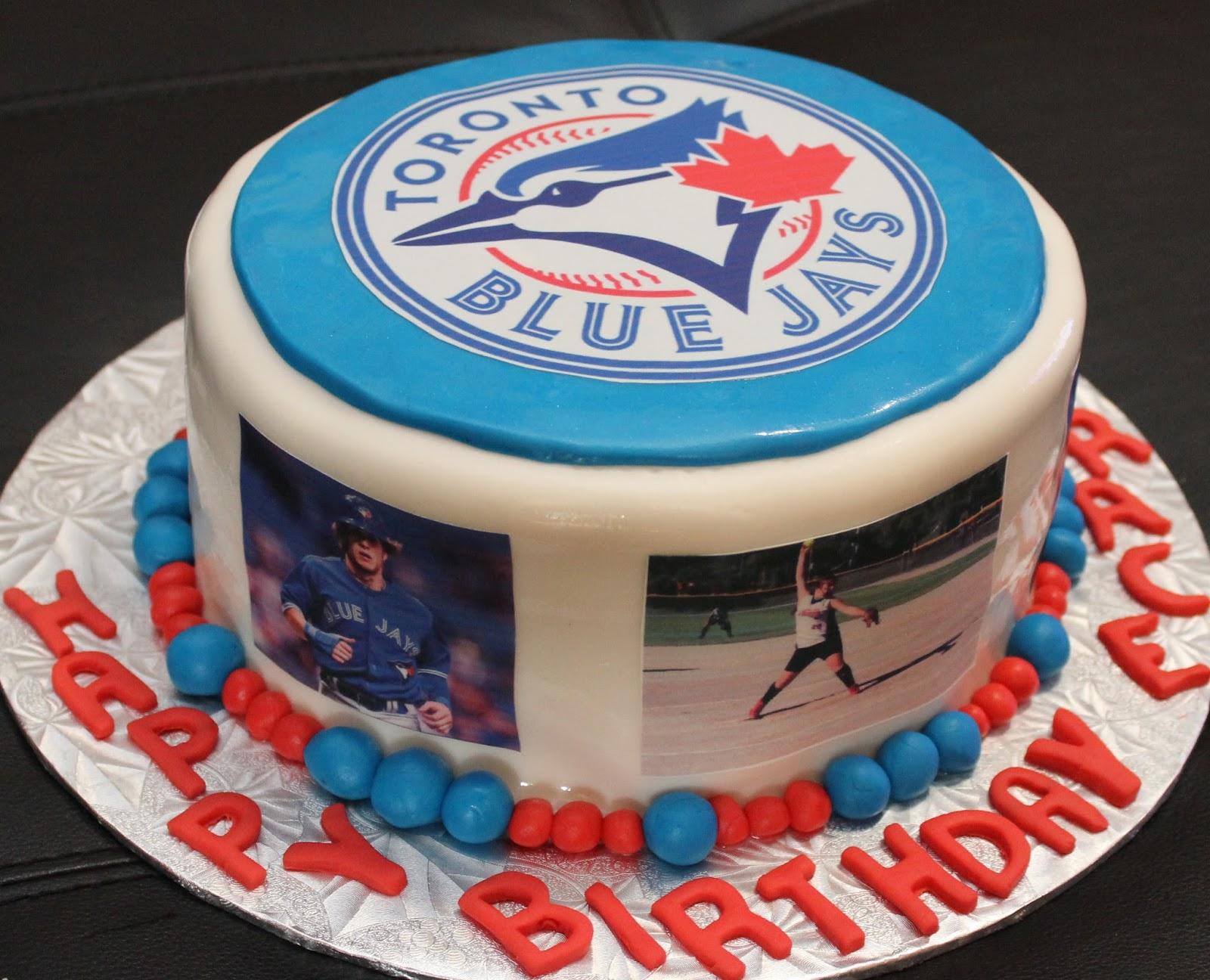 Love Dem Goodies Blue Jays Cake