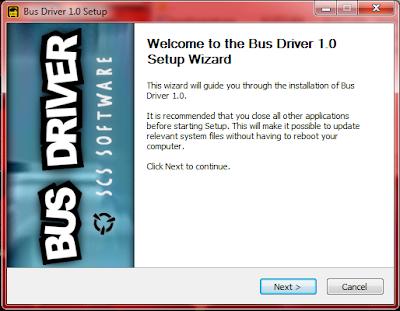 Instal Bus Driver v1.0