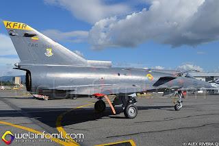 Aviónes de Combate IAI Kfir C-10 de la Fuerza Aérea Colombiana
