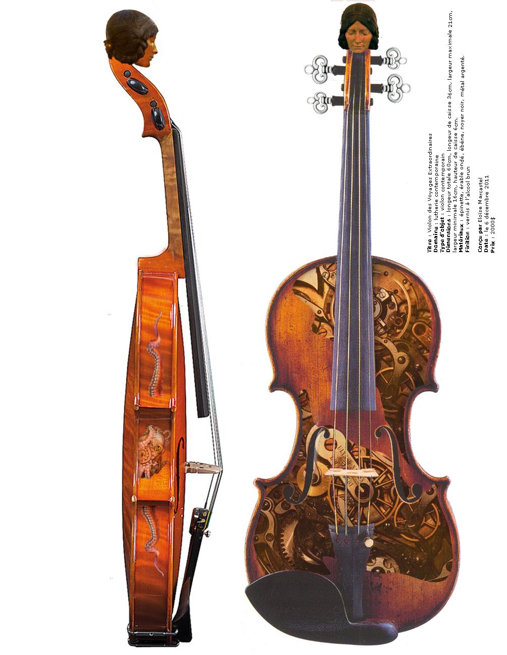 Elo se luthi re aux tudes f vrier 2012 - Dessiner un violon ...