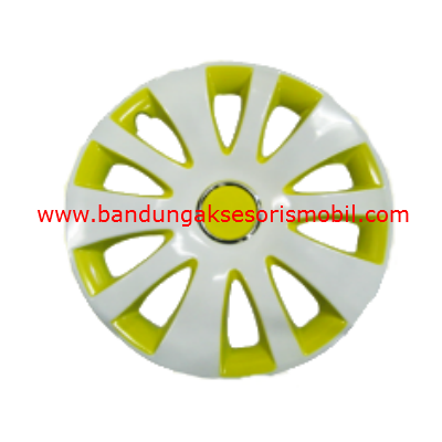 Dop Roda White+Yellow WJ-5066 15