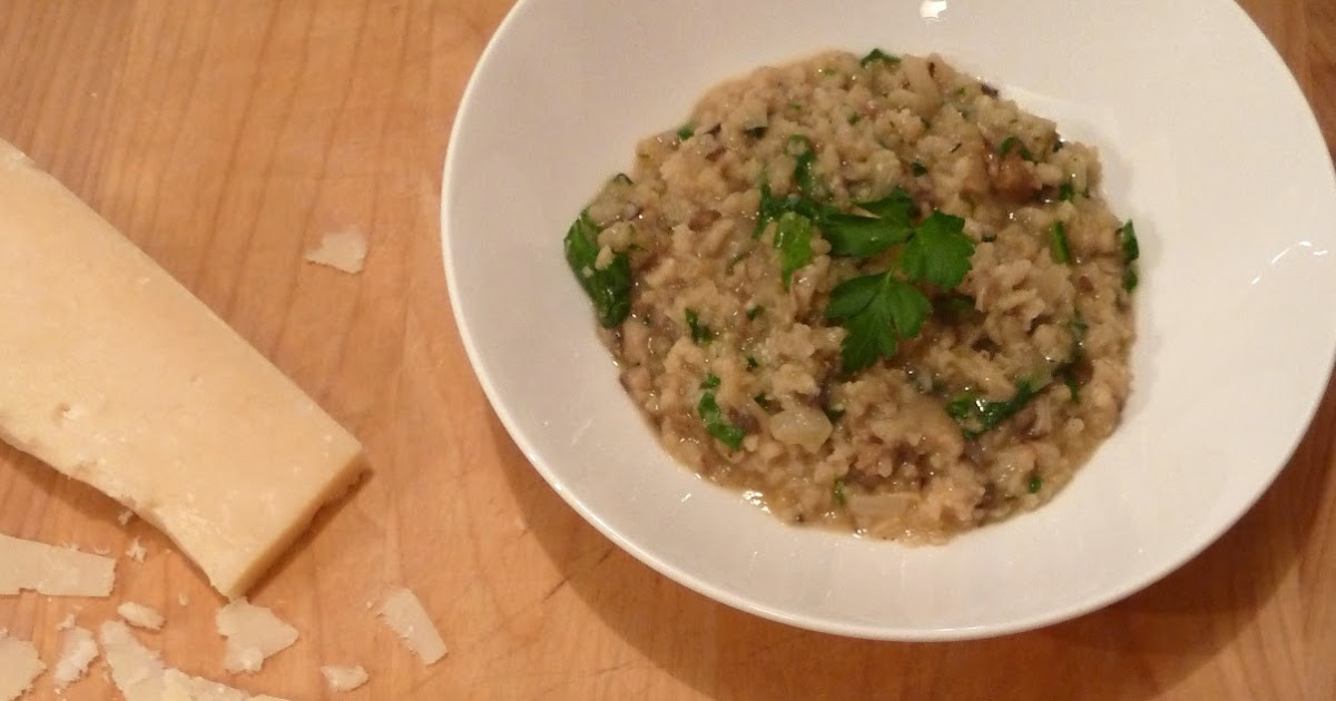 Cracked Pepper: Italian Sausage and Wild Mushroom Risotto