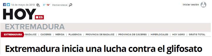 EXTREMADURA CONTRA EL GLIFOSATO