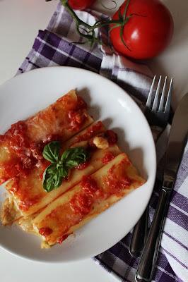 Cannelloni z mozarellą