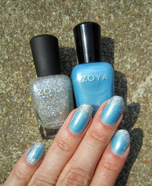 concrete and nail polish zoya