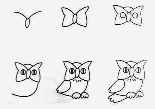 How To Draw Easy Animal Figures In Simple Steps The Idea King