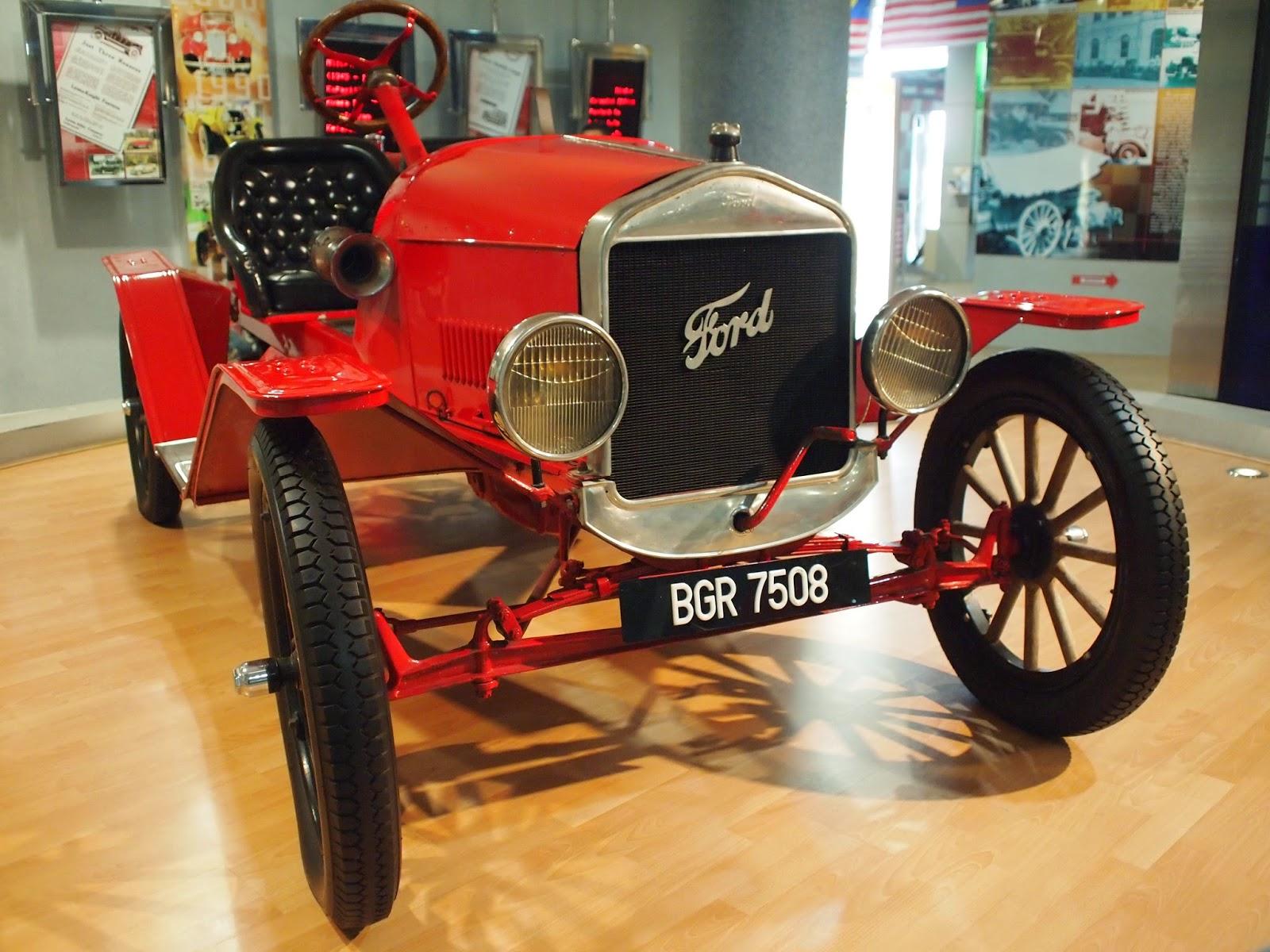 Muzium Automobil Nasional - Ford Speedster