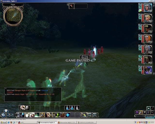 Neverwinter Nights 2: Storm of Zehir - Wight Combat Screenshot