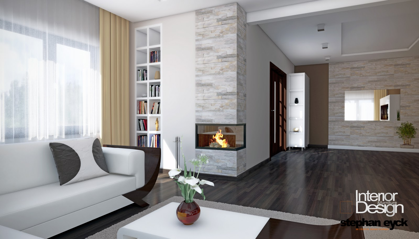 Design interior casa pitesti livingroom for Decorator interior