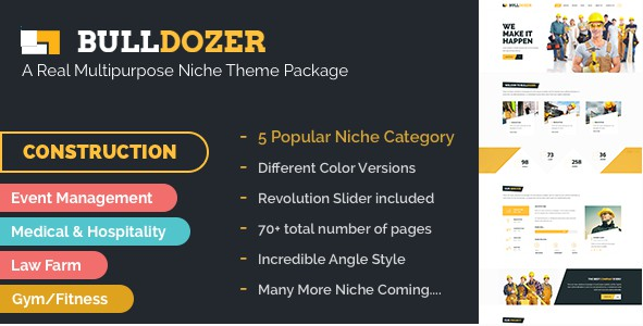 Best Multipurpose Niche Bootstrap Template