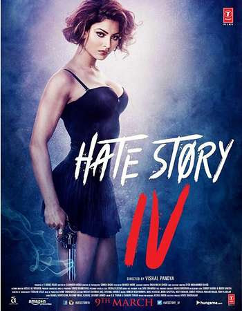 Poster Of Bollywood Movie Hate Story 4 2018 300MB Pdvd Full Hindi Movie
