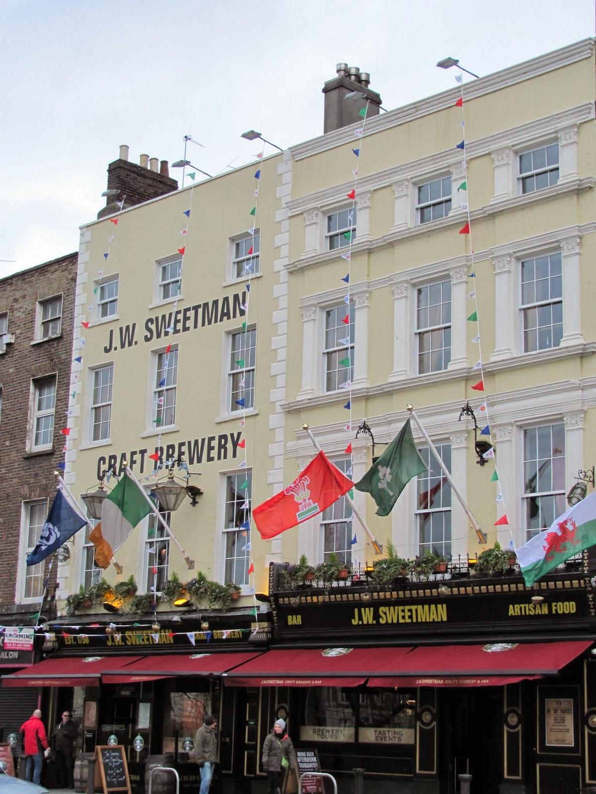J.W. Sweetman Brew Pub Dublin, Ireland
