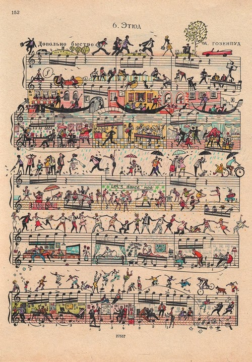 02-Alexey-Lyapunov-&-Lena-Erlich-People-Too-Russian-Illustrators-Designers-Musical-Sheet-Cartoons-www-designstack-co