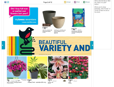 Lowes weekly online ad 4/18-4/22