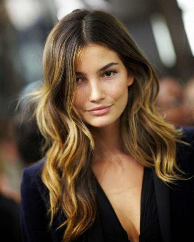 Dying Highlight For Brown hair - Perfection Hairstyles