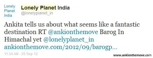 Appreciated By Lonely Planet India