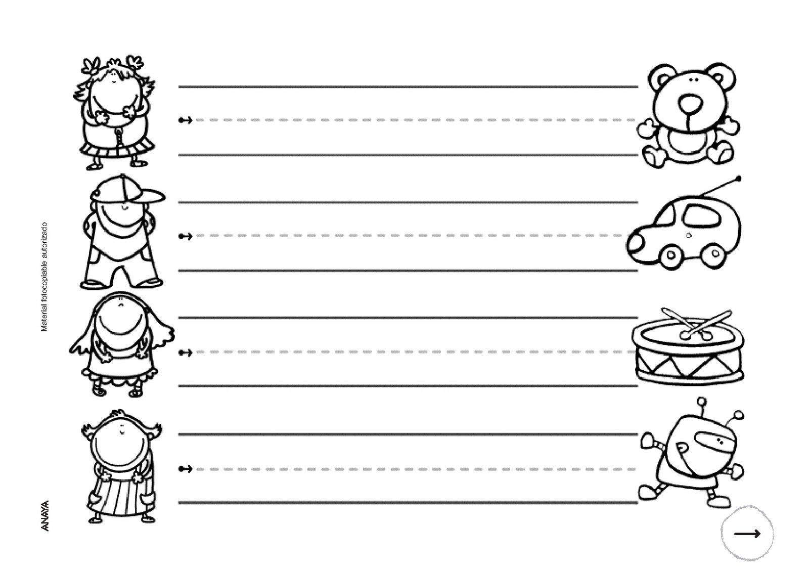 Infantilglori fichas repaso 3 a os for Actividades pedagogicas para ninos de 2 a 3 anos