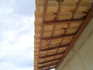 Beiral telhado colonial
