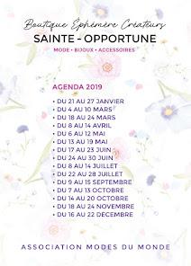 Agenda 2019 Save the Date ! Mapapalo Brasil Bijoux  expo vente à L Espace Sainte Opportune Paris Ch