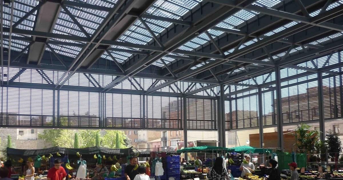 Vidrios fotovoltaicos vidursolar cubren la plaza del - La pergola figueres ...