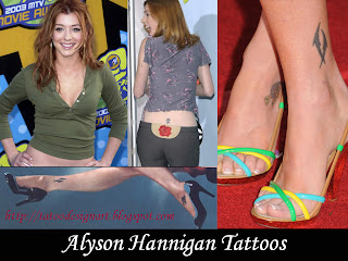 Alyson Hannigan Tattoos - Celebrity Tattoo Ideas