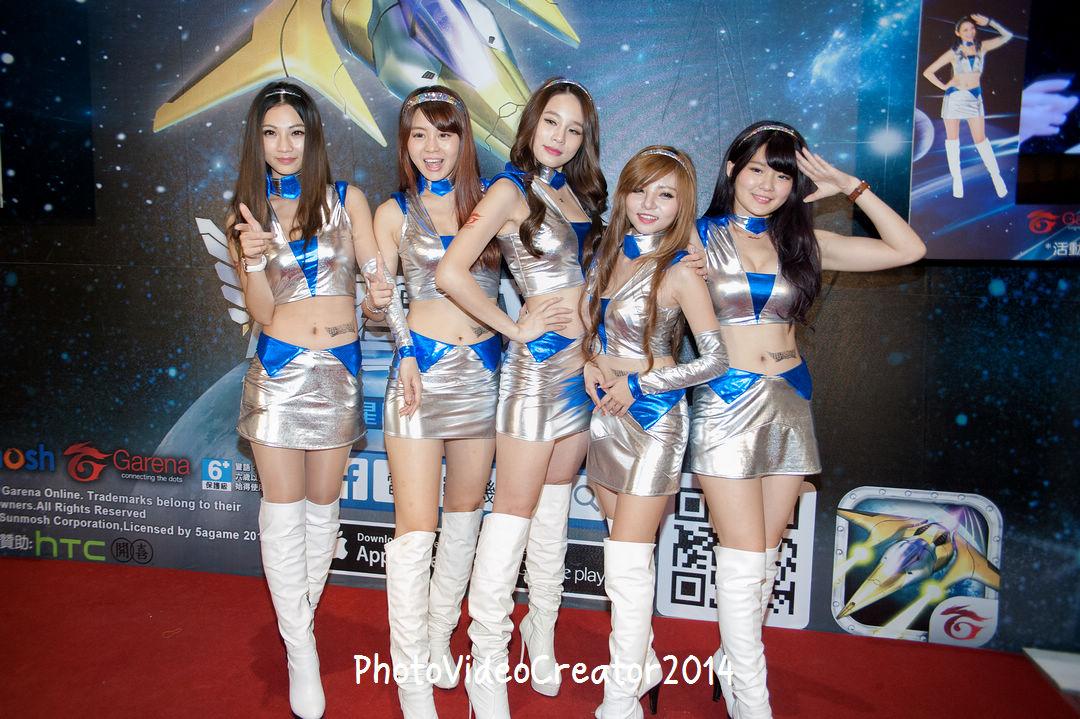 2015 3/29 高雄夢時代 Garena 雷霆戰機 12星使 玩家見面會