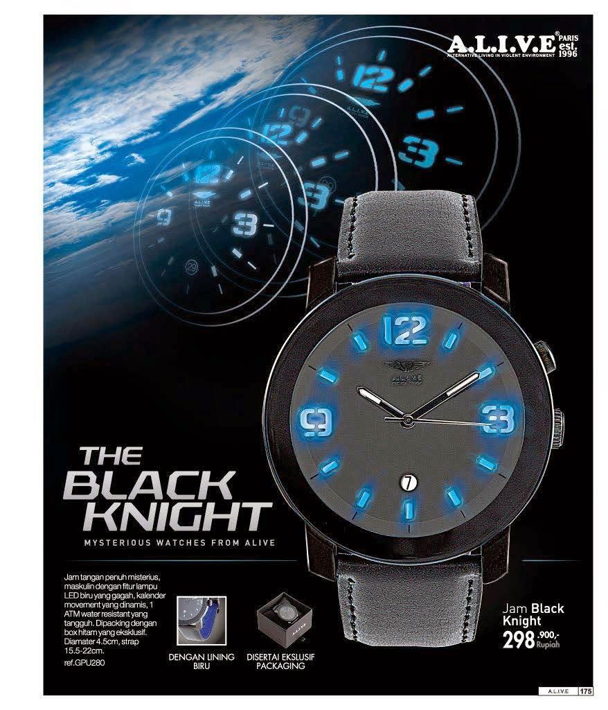 Model jam tangan pria alive