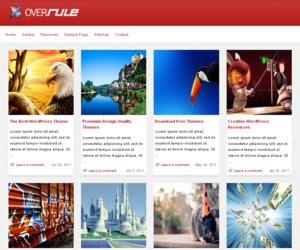OverRule WordPress Theme