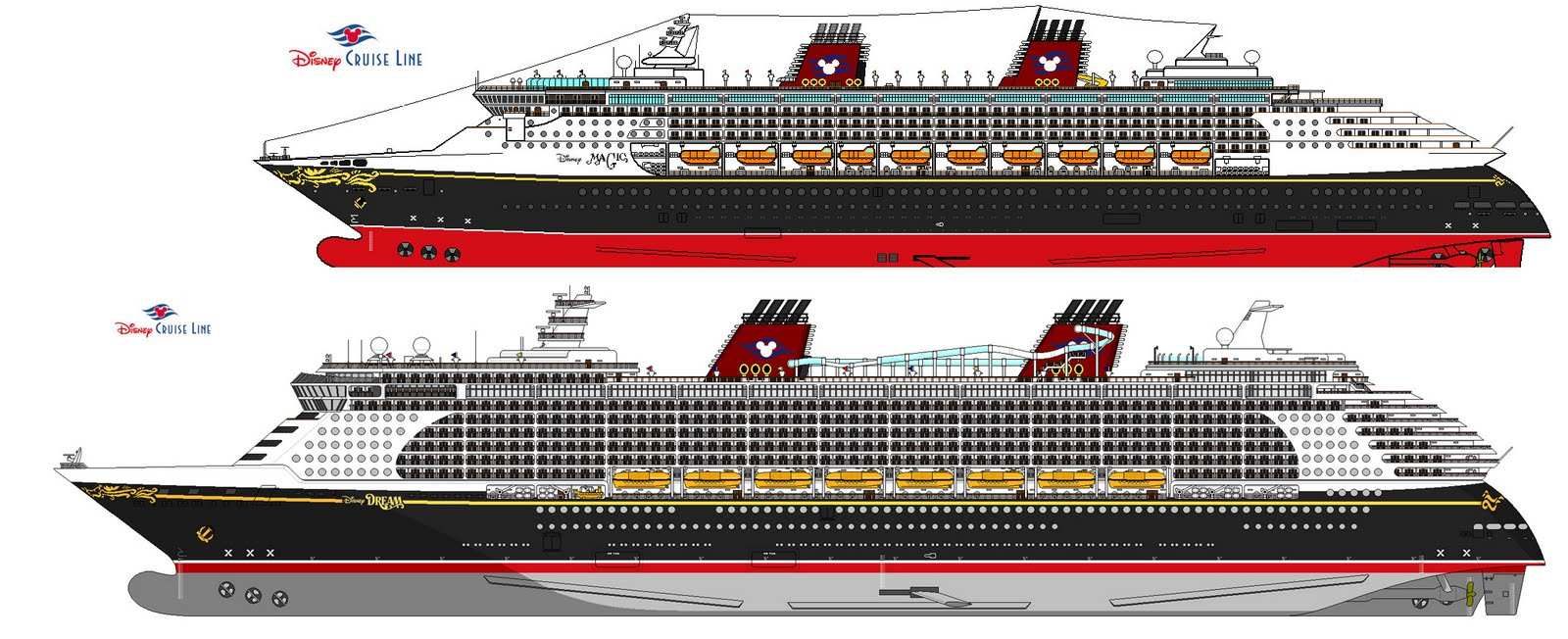 Mouse Guide Identifying Disney Cruise Ships